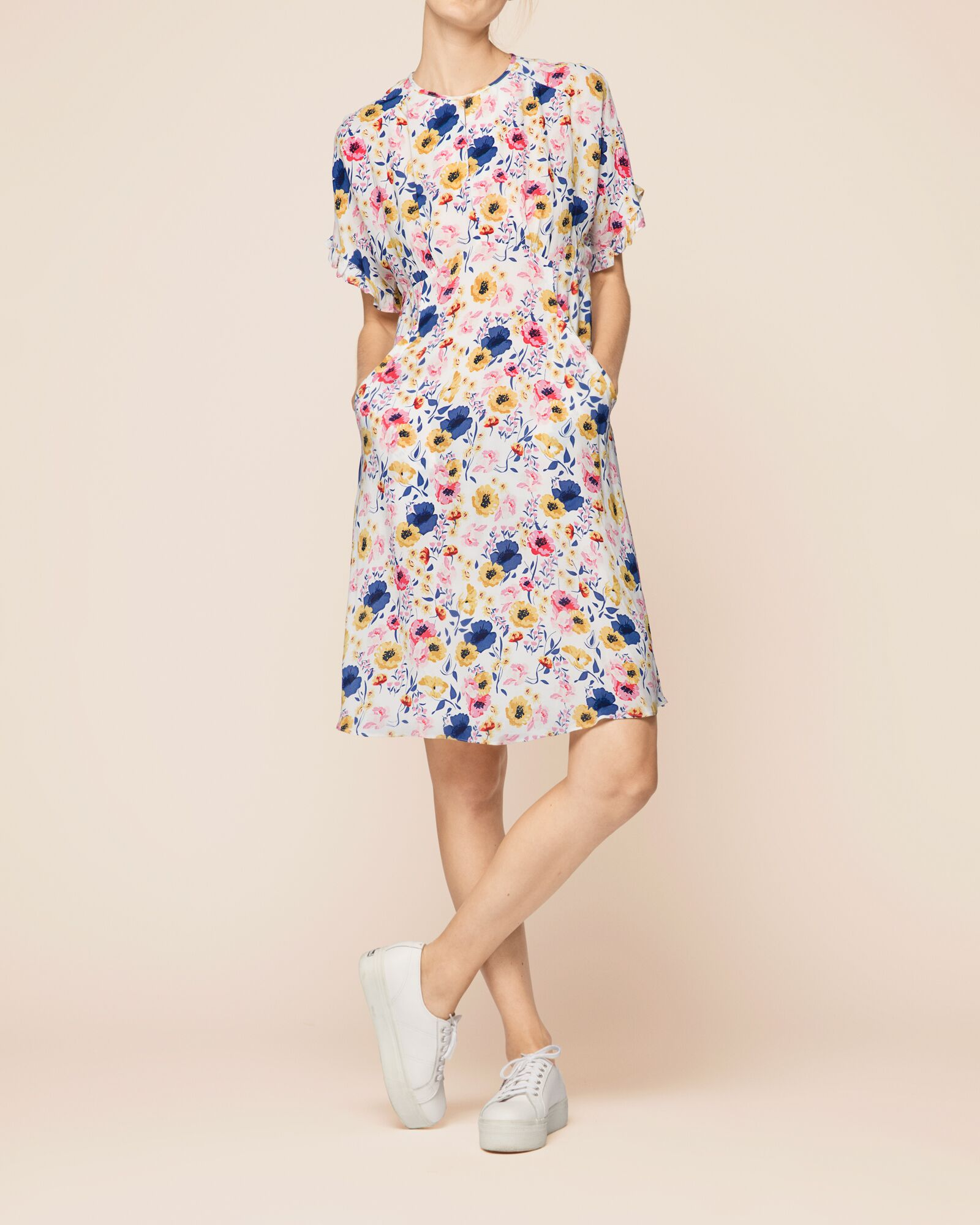 135b0630 BYTIMO - Vintage Drape Day Dress - Feel Good Store