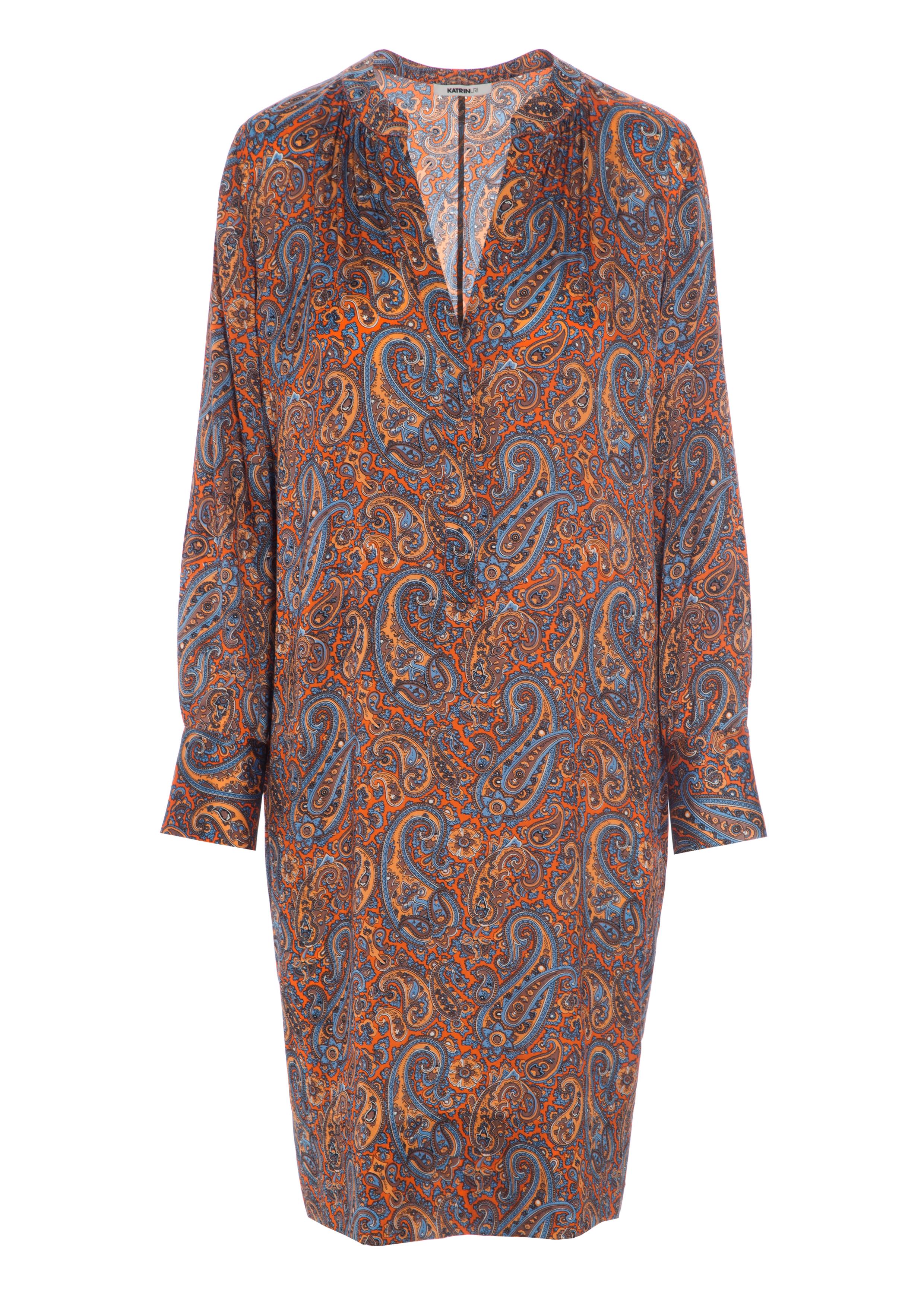 3c4b0804d9a2 KATRIN URI - Paisley Shift Dress - Feel Good Store