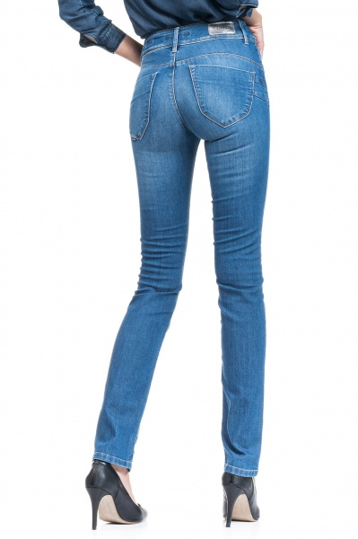 salsa jeans push in secret medium blue slim feel good store. Black Bedroom Furniture Sets. Home Design Ideas