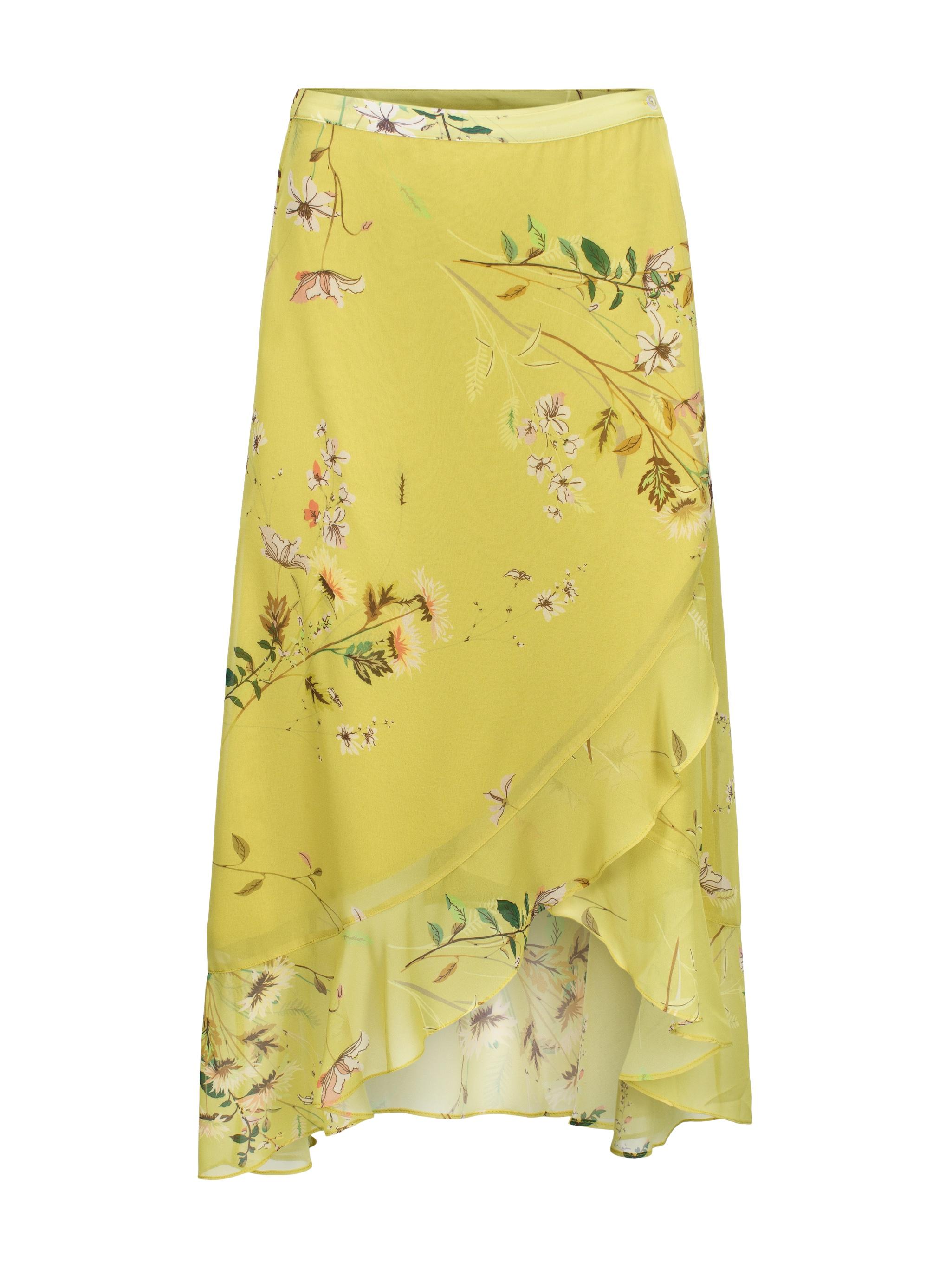 edb67f8b RICCOVERO - Volang Skirt Yellow FLower - Feel Good Store